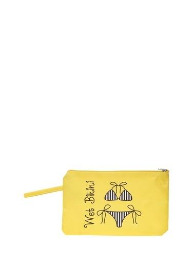 T-Box Plaj Çantası Sarı